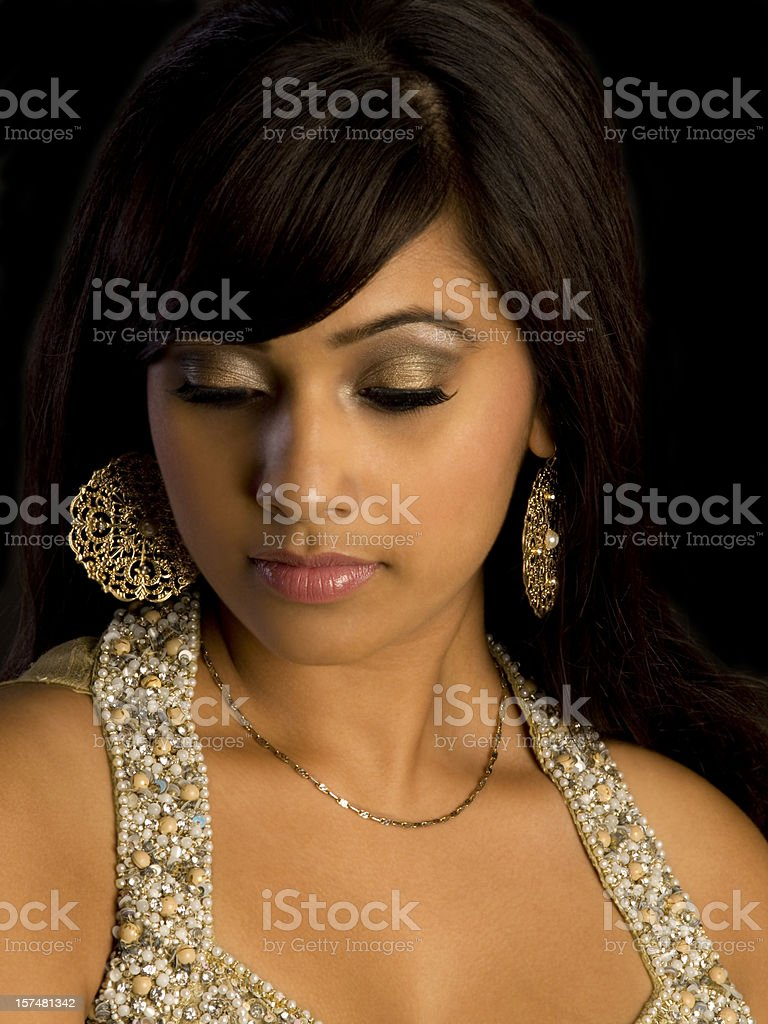 East Indian Fashion royalty-free stock photo