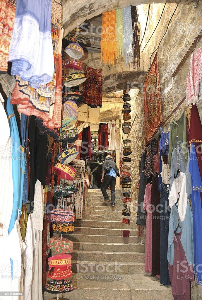 East Jerusalem Market royalty-free stock photo