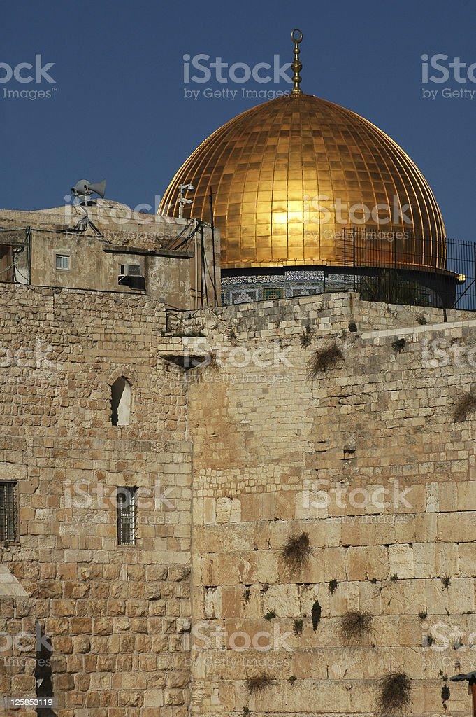 East Jerusalem stock photo