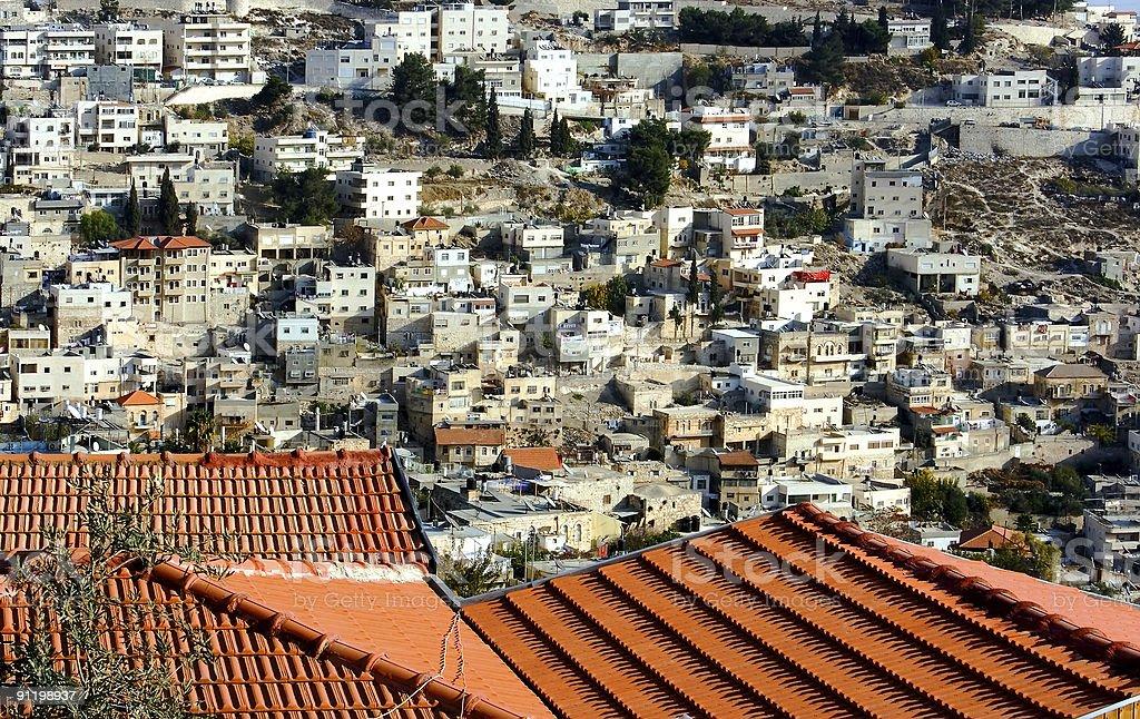 East Jerusalem. royalty-free stock photo