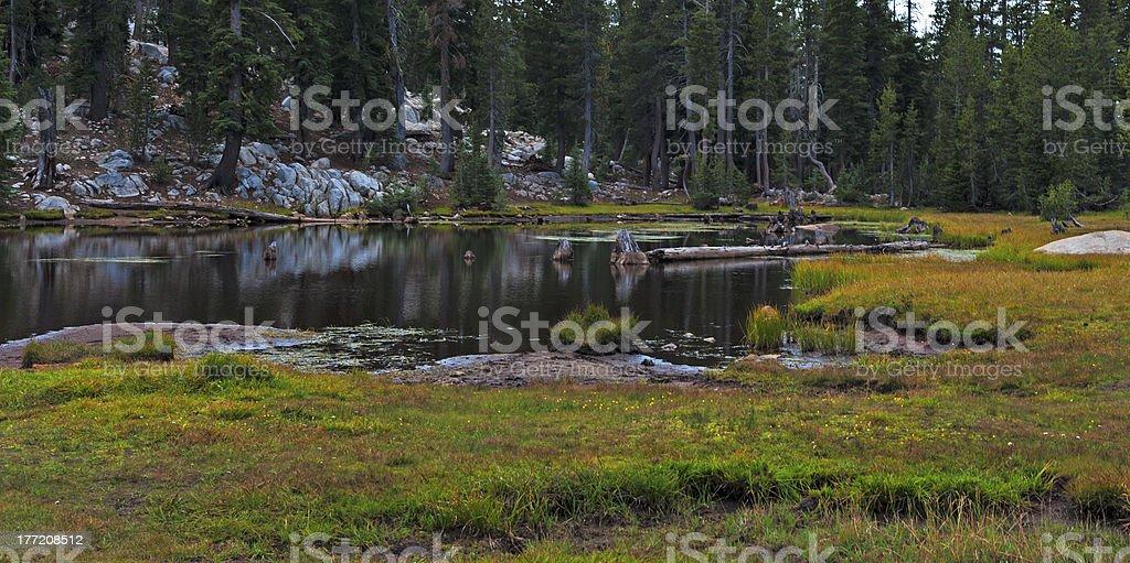 East Lake Alpine 1 stock photo