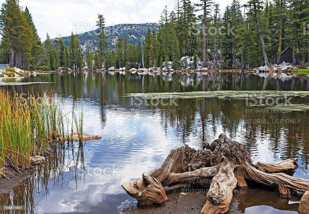 East Lake Alpine stock photo