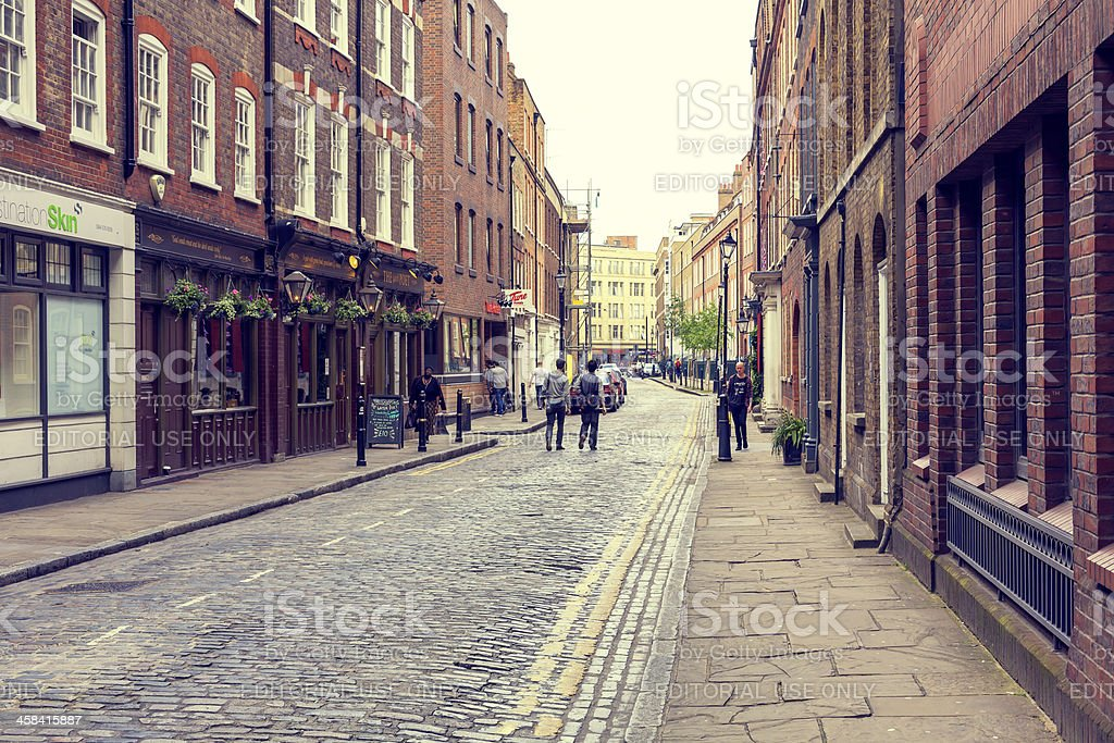 East London stock photo
