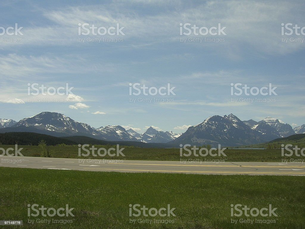 East of Glacier, NP Montana royalty-free stock photo