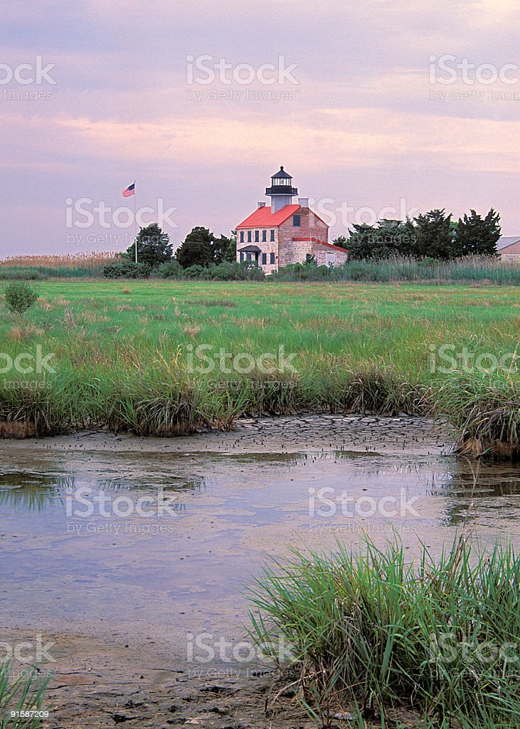 East point lighthouse New Jersey royalty-free stock photo