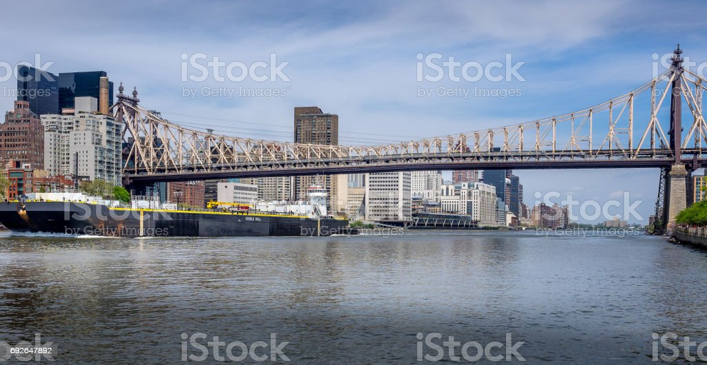 East River Shipping stock photo