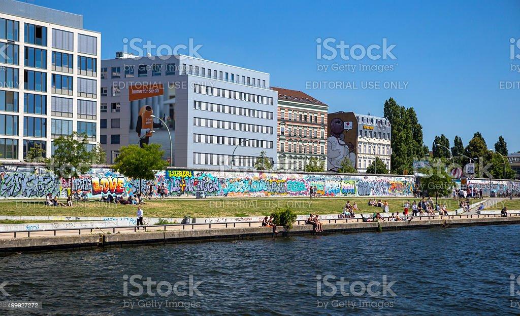 East Side Gallery (Berlin Wall) stock photo