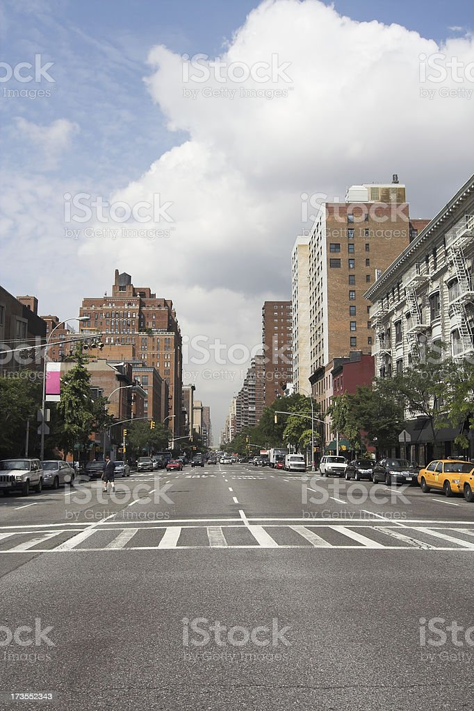 East Side Manhattan NYC royalty-free stock photo