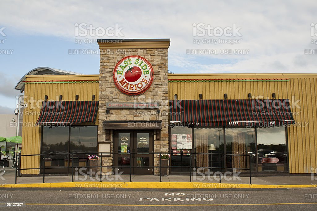 East Side Mario's Restaurant royalty-free stock photo