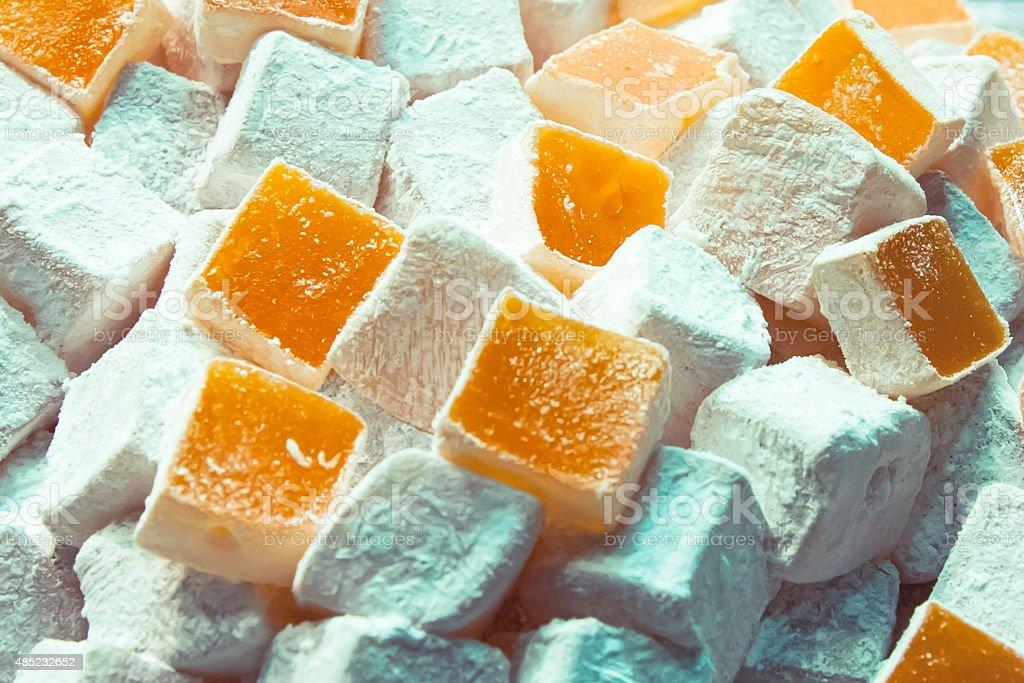 East sweets. Turkish sweets. stock photo