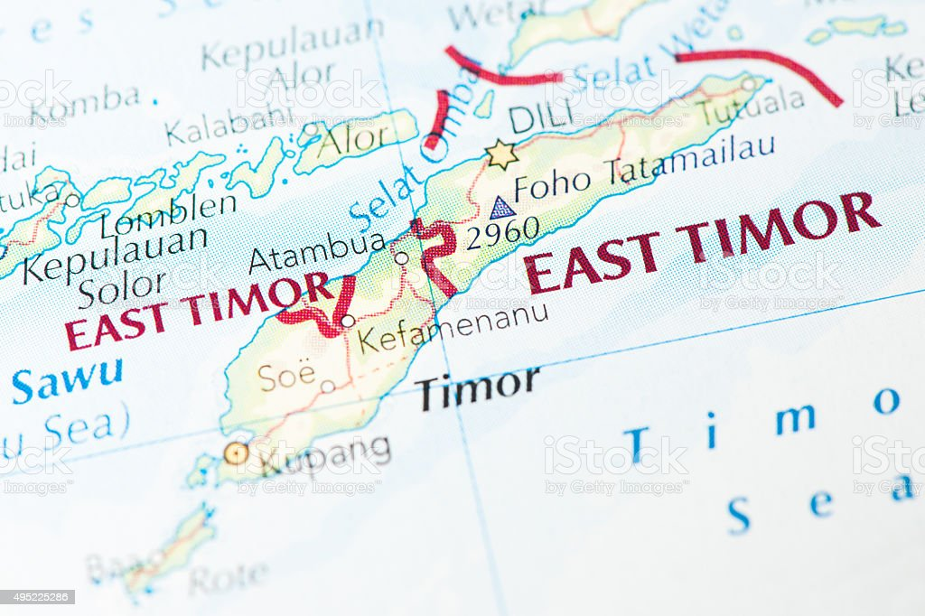 East Timor stock photo