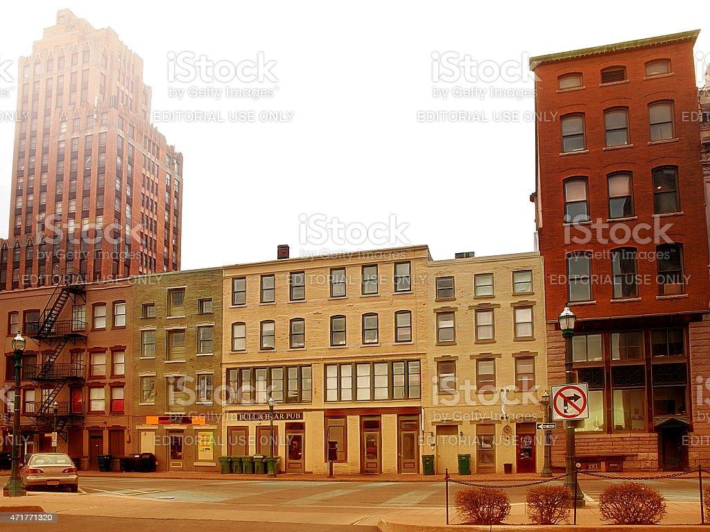 East Water Street stock photo