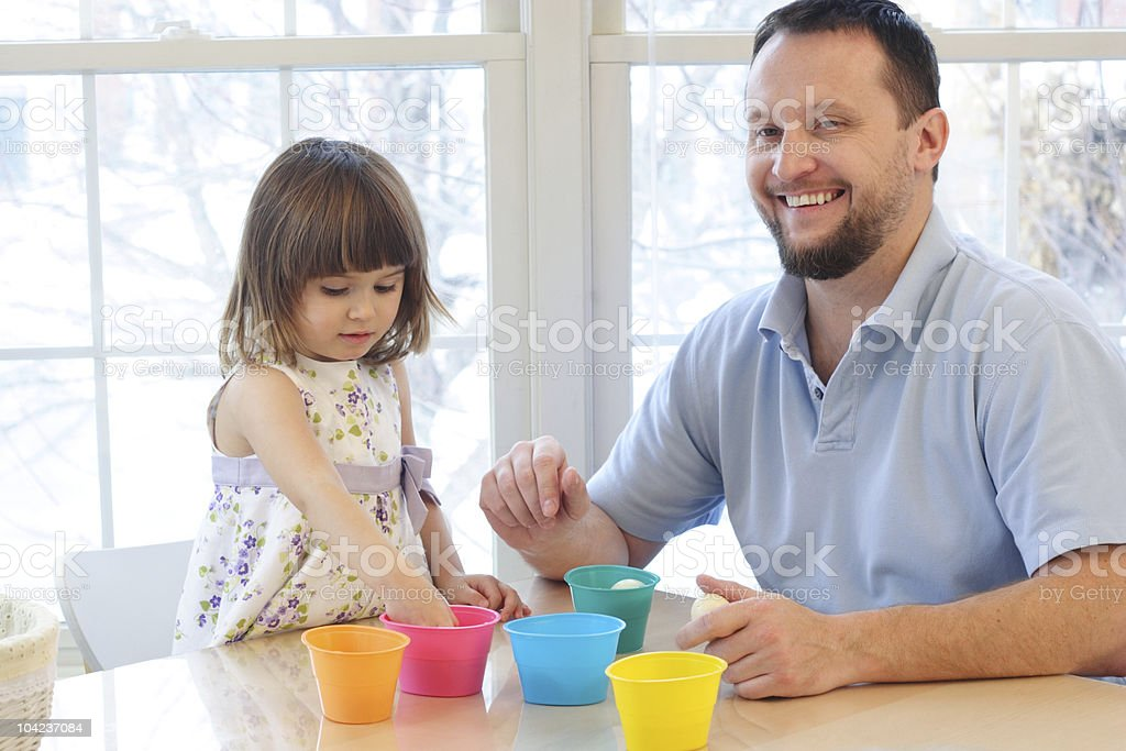 Easter activities royalty-free stock photo