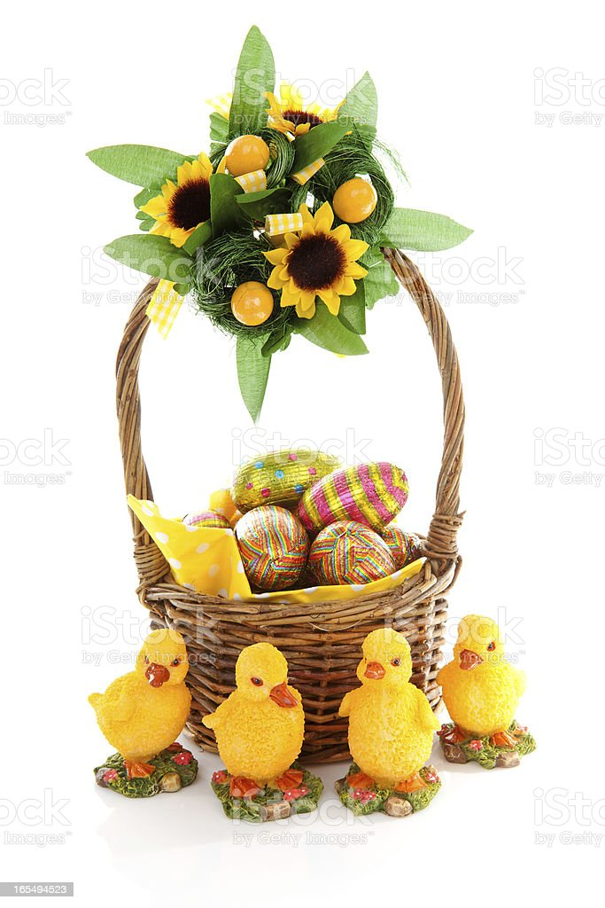 Easter arrangement royalty-free stock photo