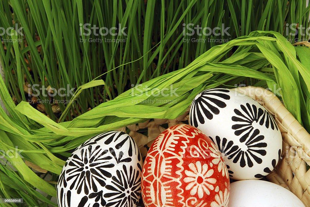 Easter arrangement royalty-free stock photo