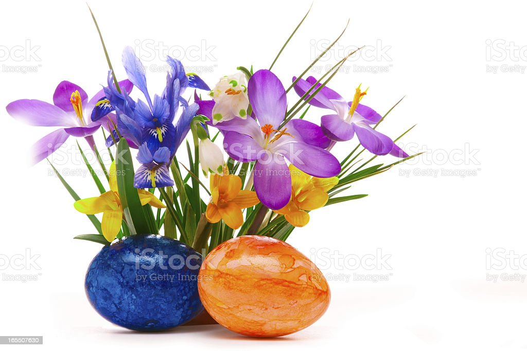 Easter background. royalty-free stock photo