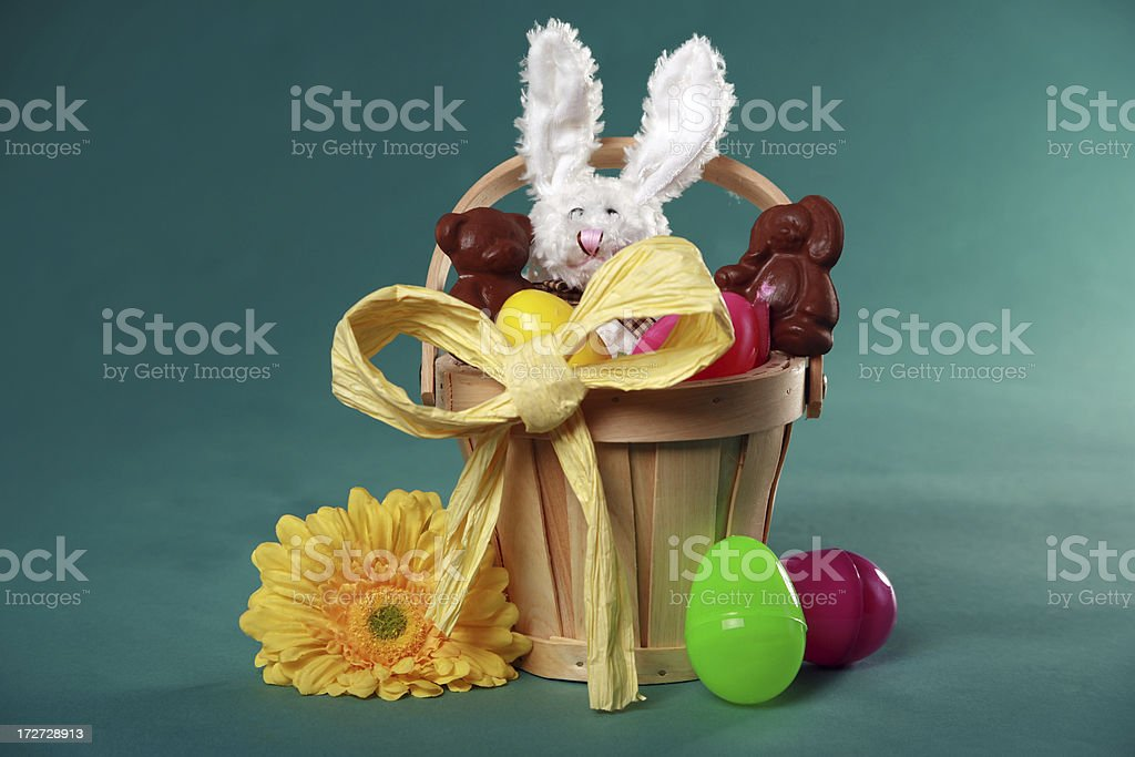 Easter Basket 2 royalty-free stock photo