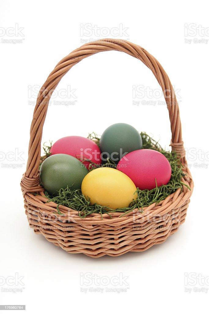 Easter Basket royalty-free stock photo