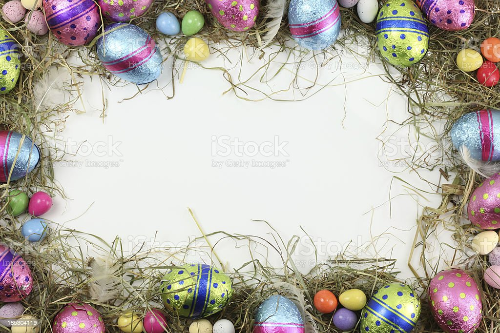 Easter Border royalty-free stock photo