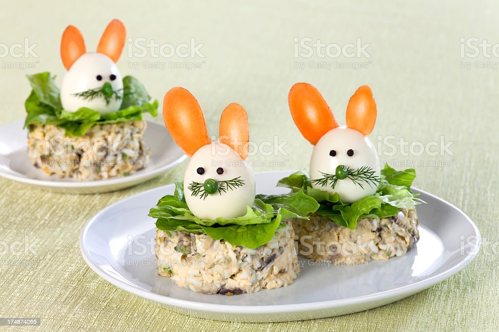 Easter breakfast royalty-free stock photo