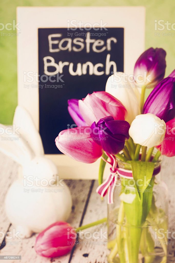 Easter Brunch royalty-free stock photo