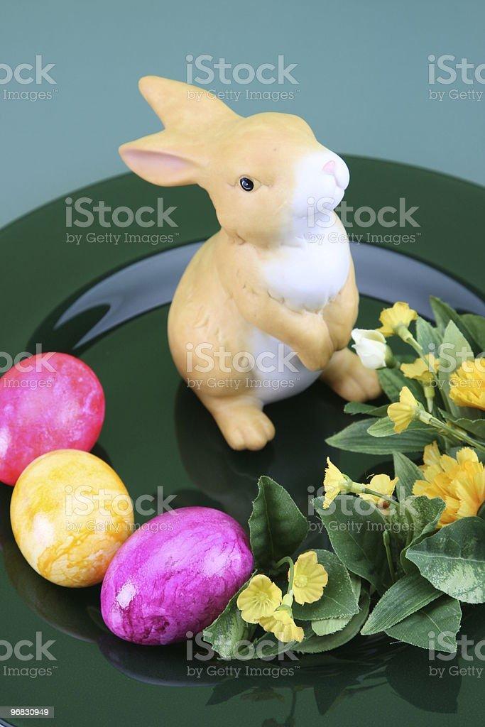 Easter Bunny Arrangement royalty-free stock photo