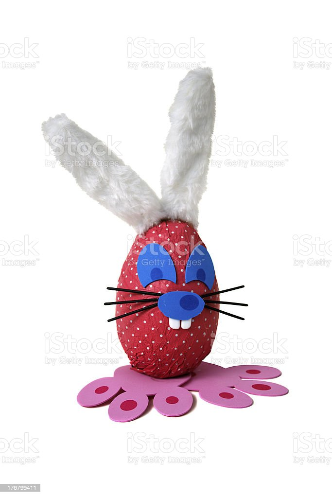 Easter bunny egg royalty-free stock photo