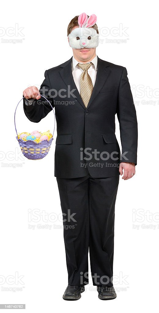 Easter Bunny Outfit 2 stock photo
