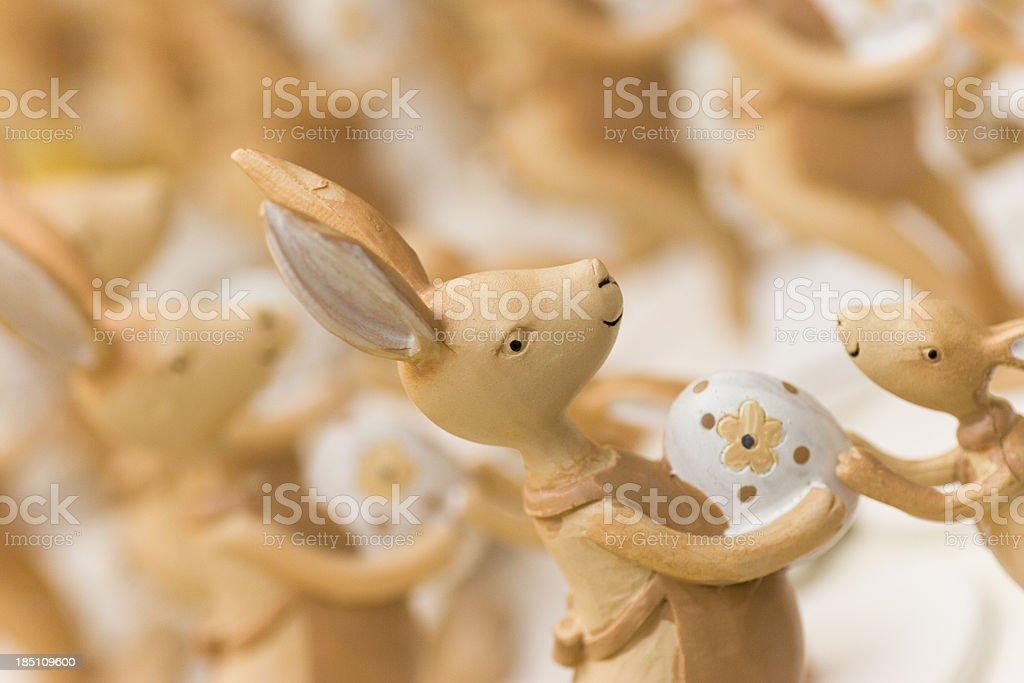 Easter Bunny School royalty-free stock photo