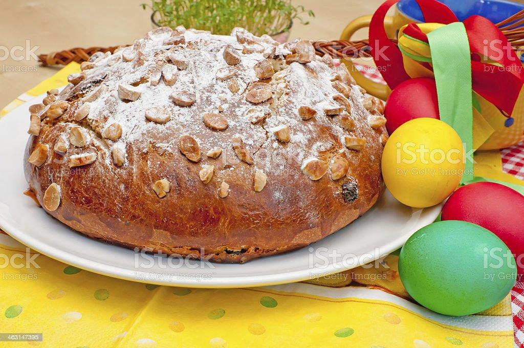 Easter Cake stock photo