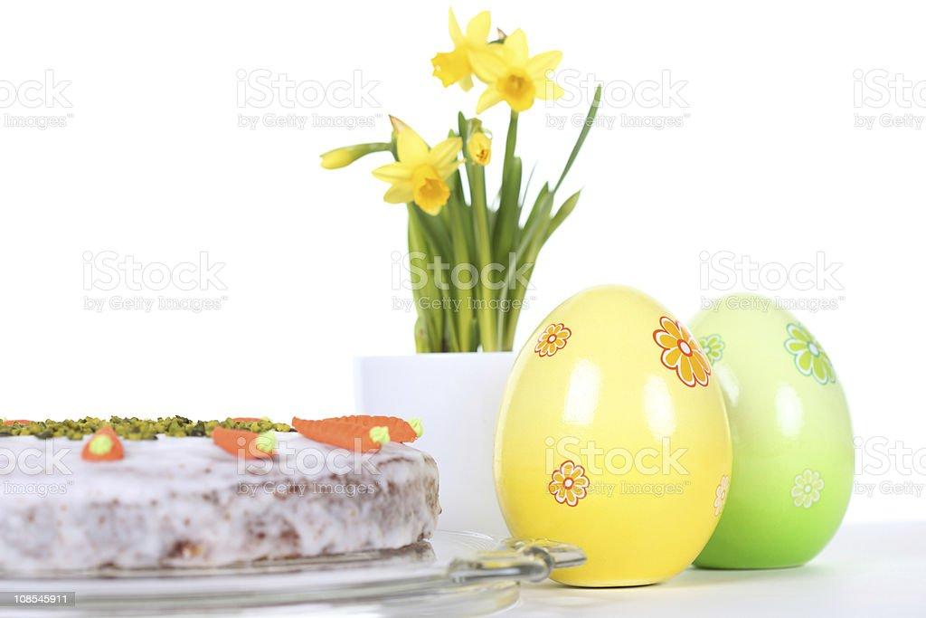 Easter Cake Set royalty-free stock photo