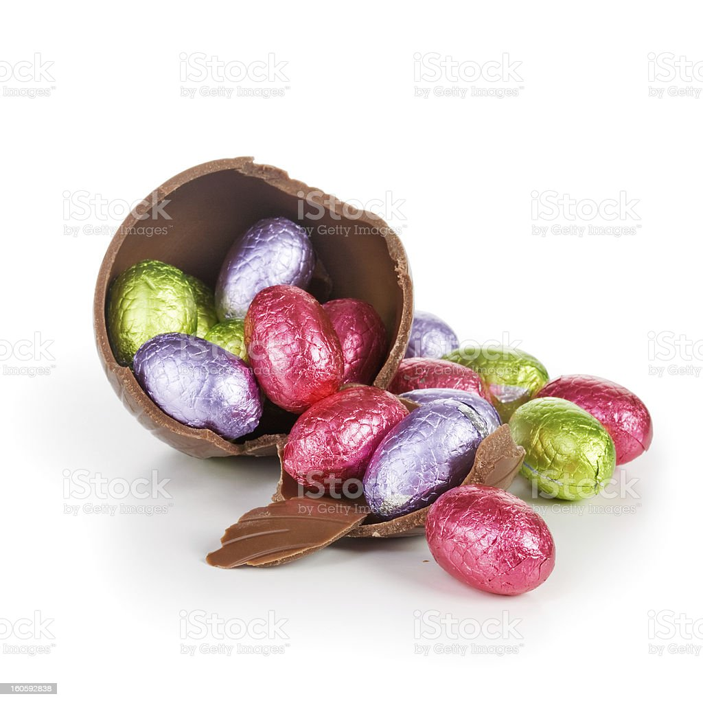 Easter candies royalty-free stock photo