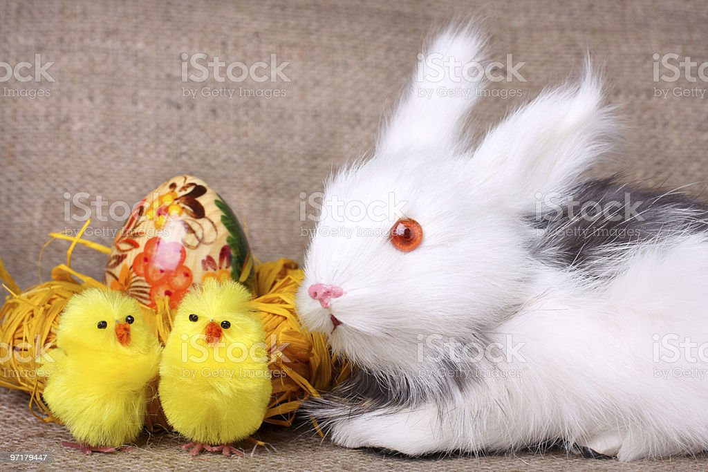Easter card royalty-free stock photo