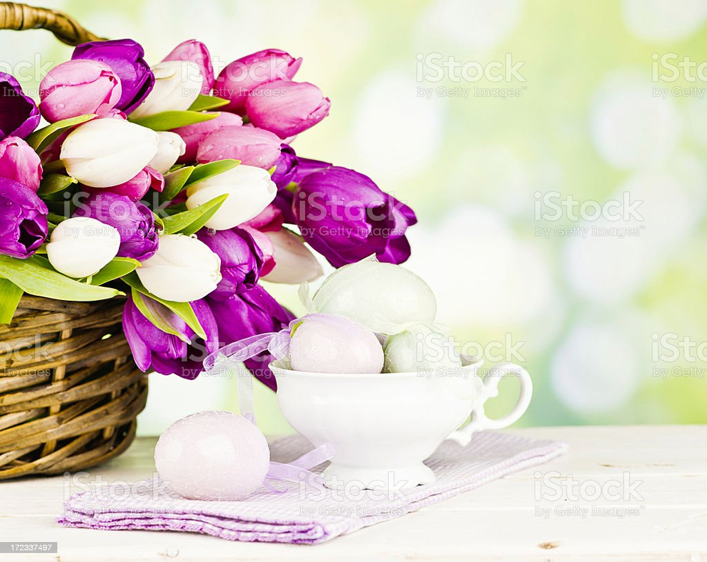 Easter Celebration Still Life royalty-free stock photo