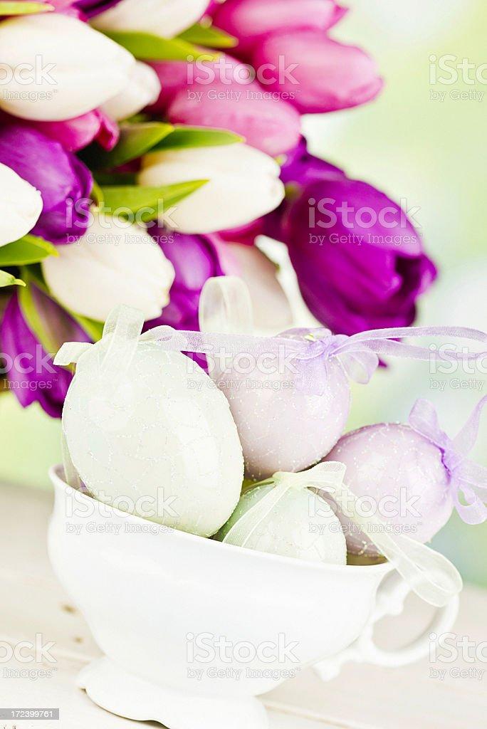 Easter Celebration Still Life royalty-free stock photo