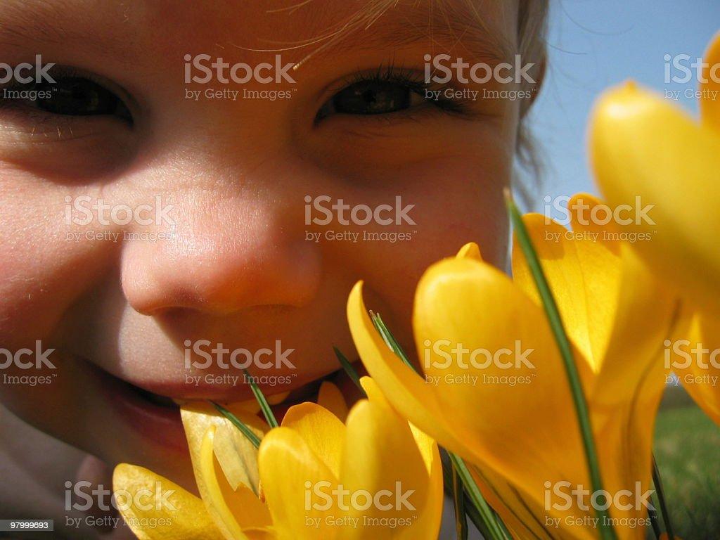 Easter Charlotte stock photo