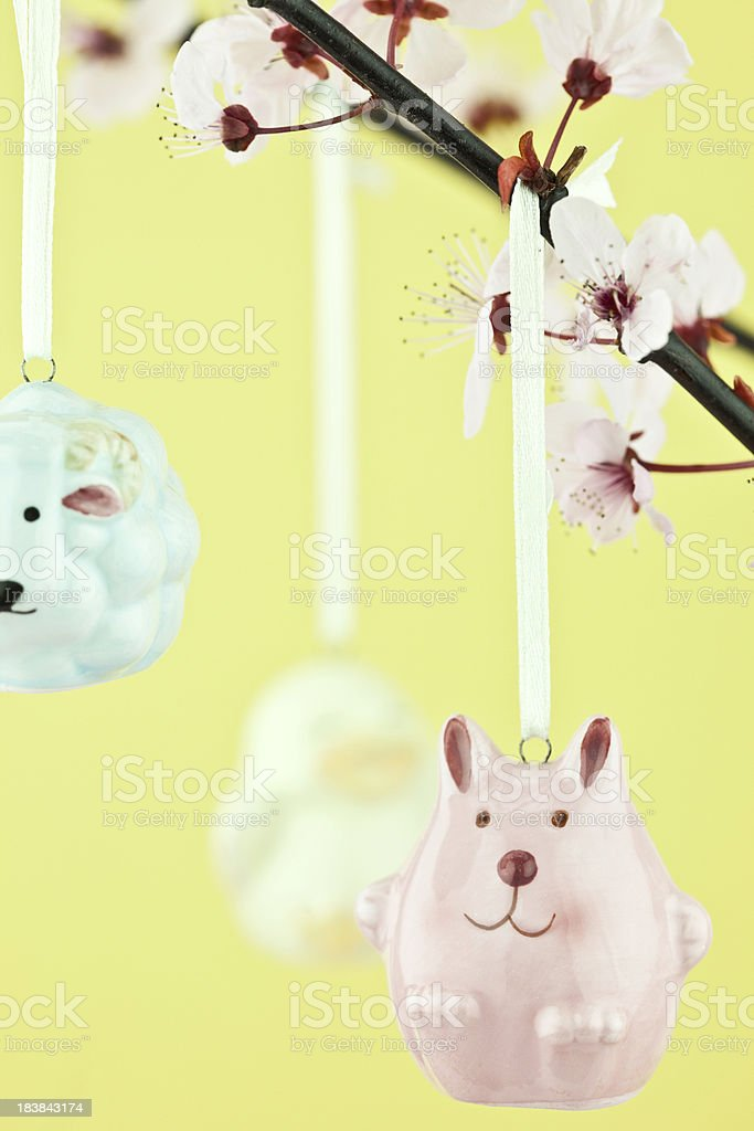 Easter Cherry Blossom Tree royalty-free stock photo