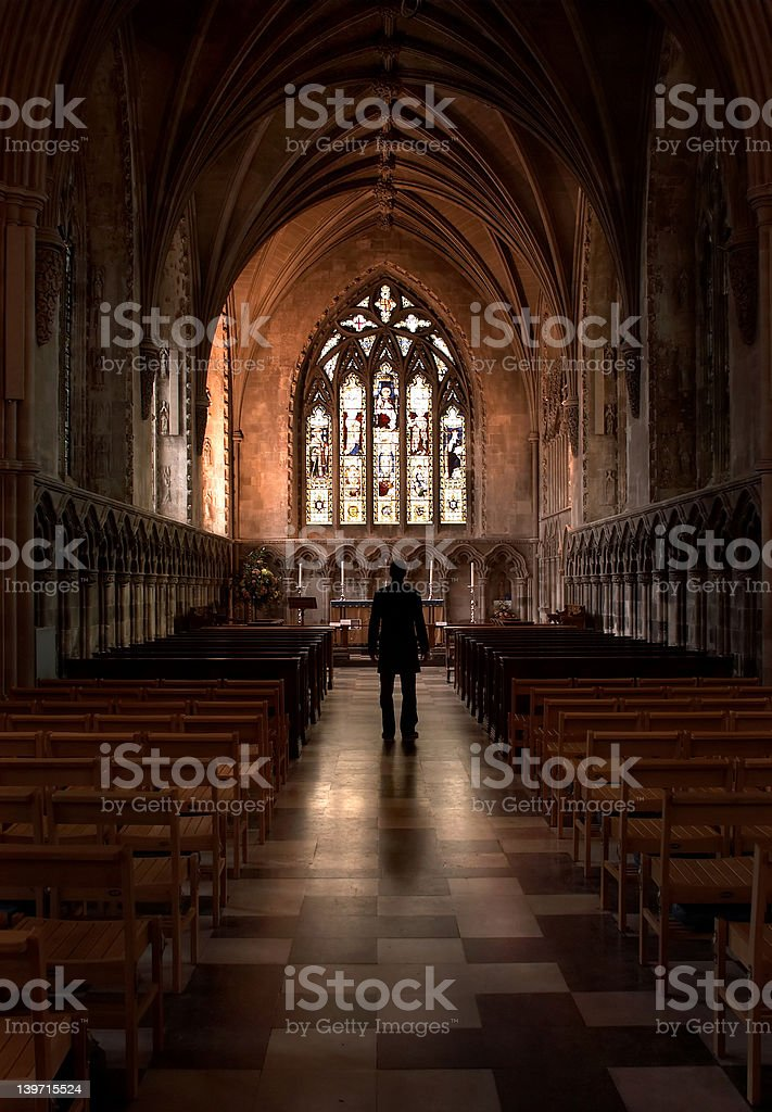 Easter Church royalty-free stock photo