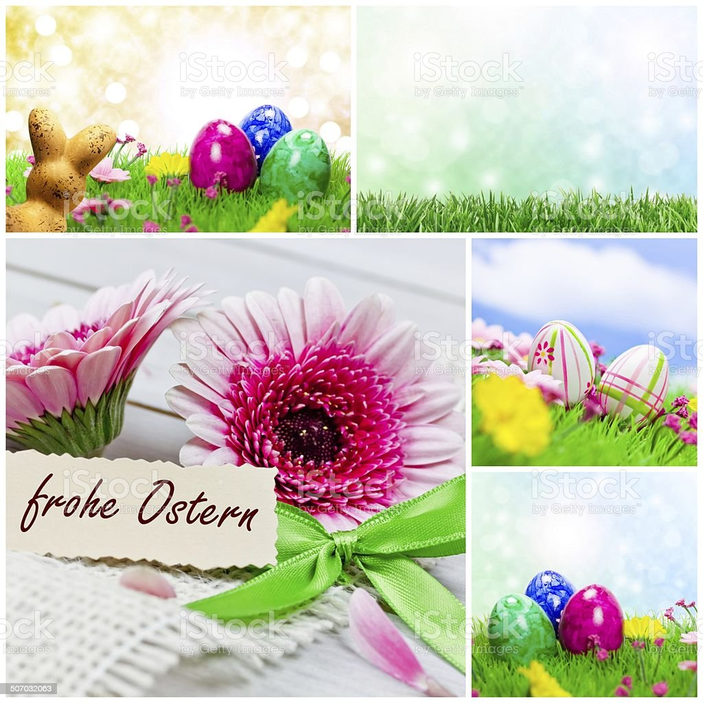 easter compilation royalty-free stock photo