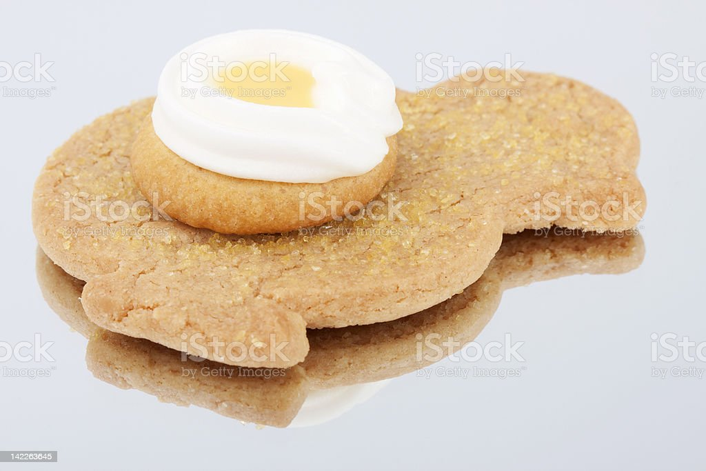 Easter cookies royalty-free stock photo