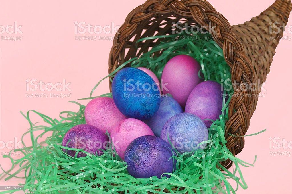 Easter Cornucopia stock photo
