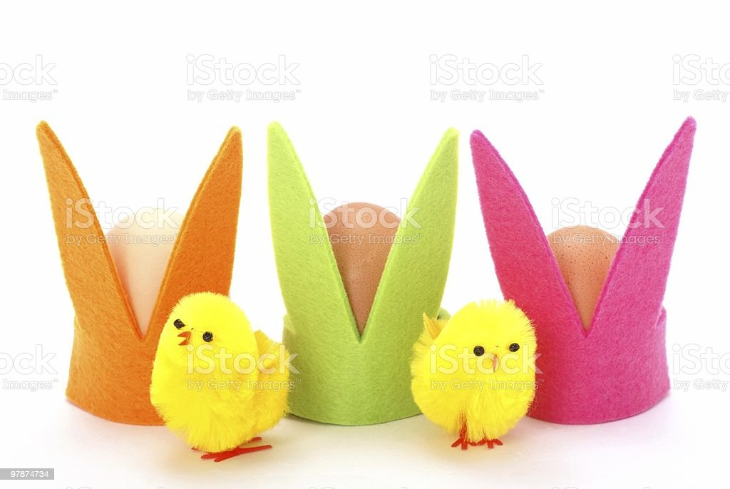 Easter decoraions royalty-free stock photo