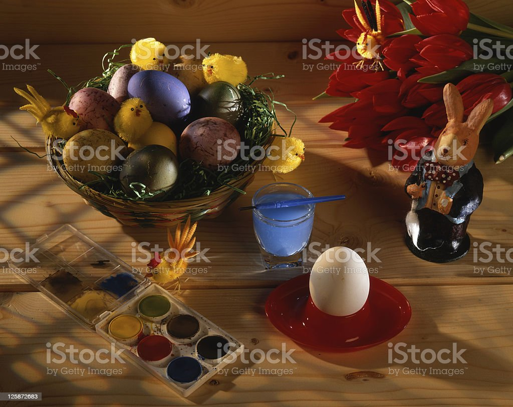 Decorazione di Pasqua foto stock royalty-free