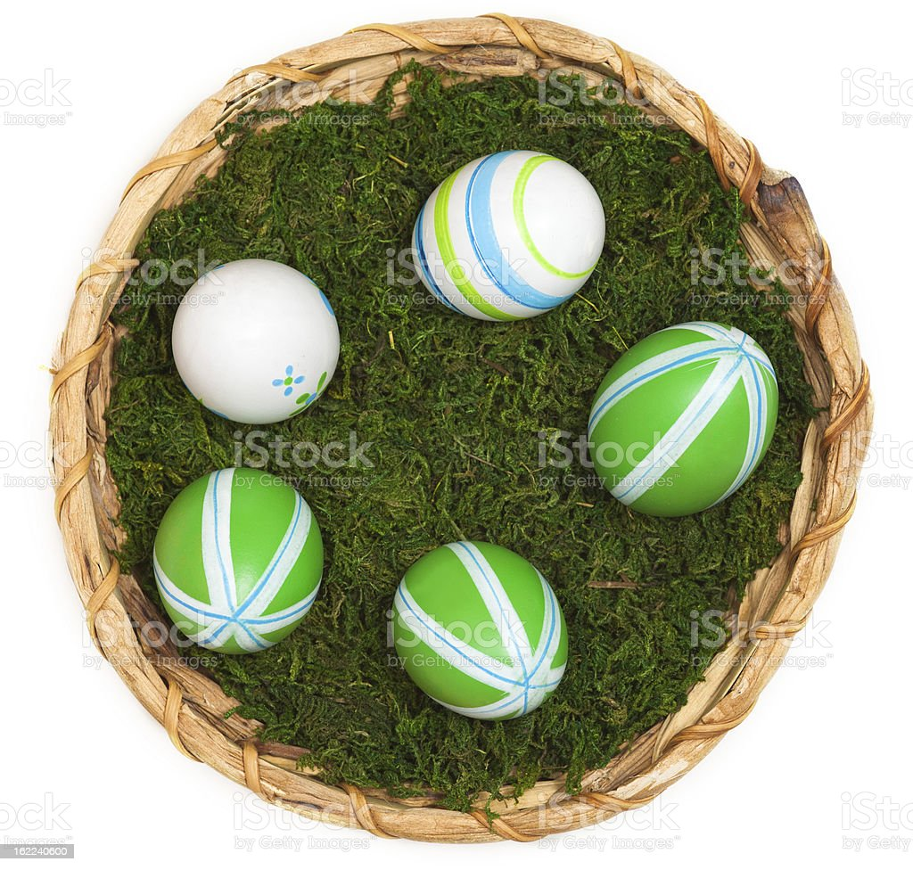 easter dekoration royalty-free stock photo