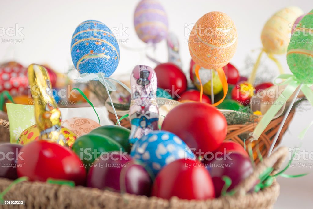 Easter decoration. stock photo