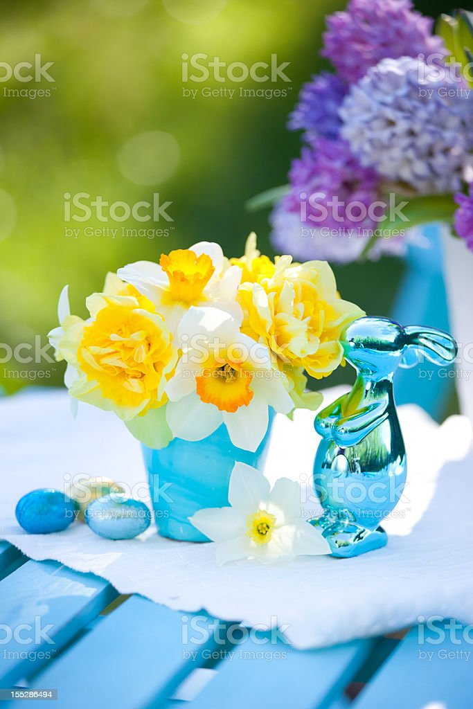 Easter decorations royalty-free stock photo