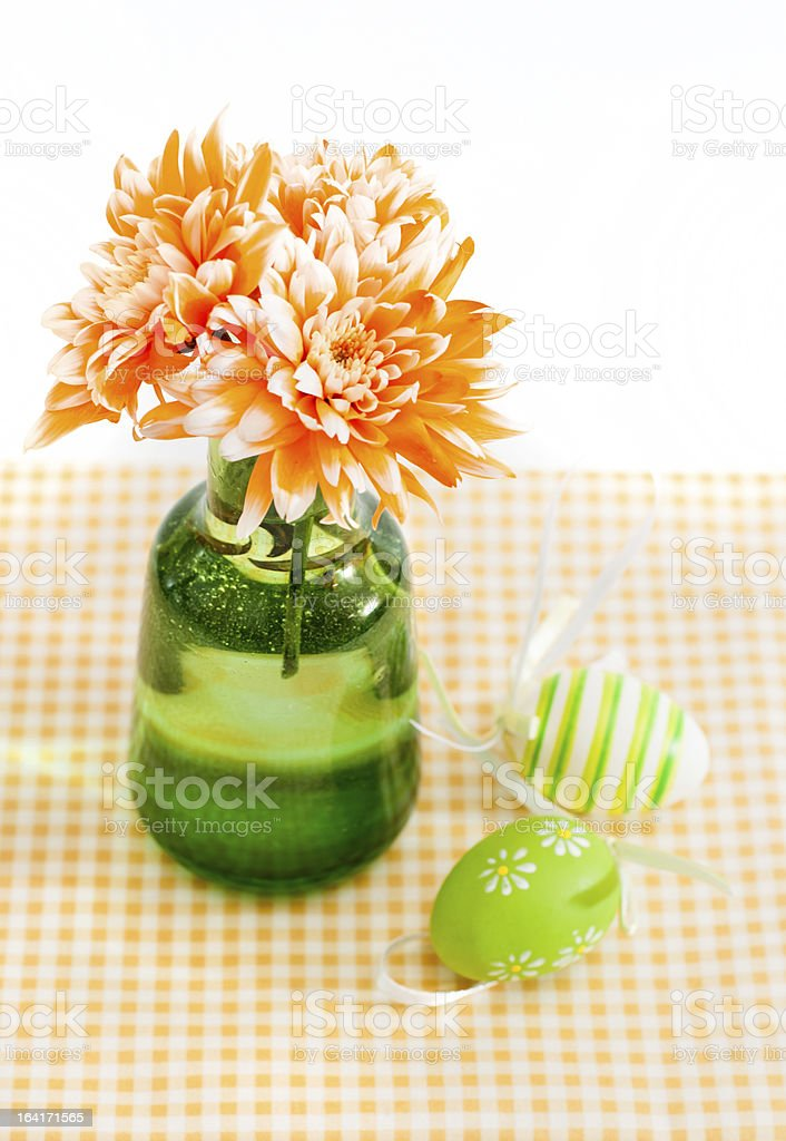 Easter decorative eggs royalty-free stock photo