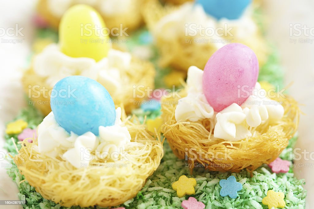 Easter dessert royalty-free stock photo