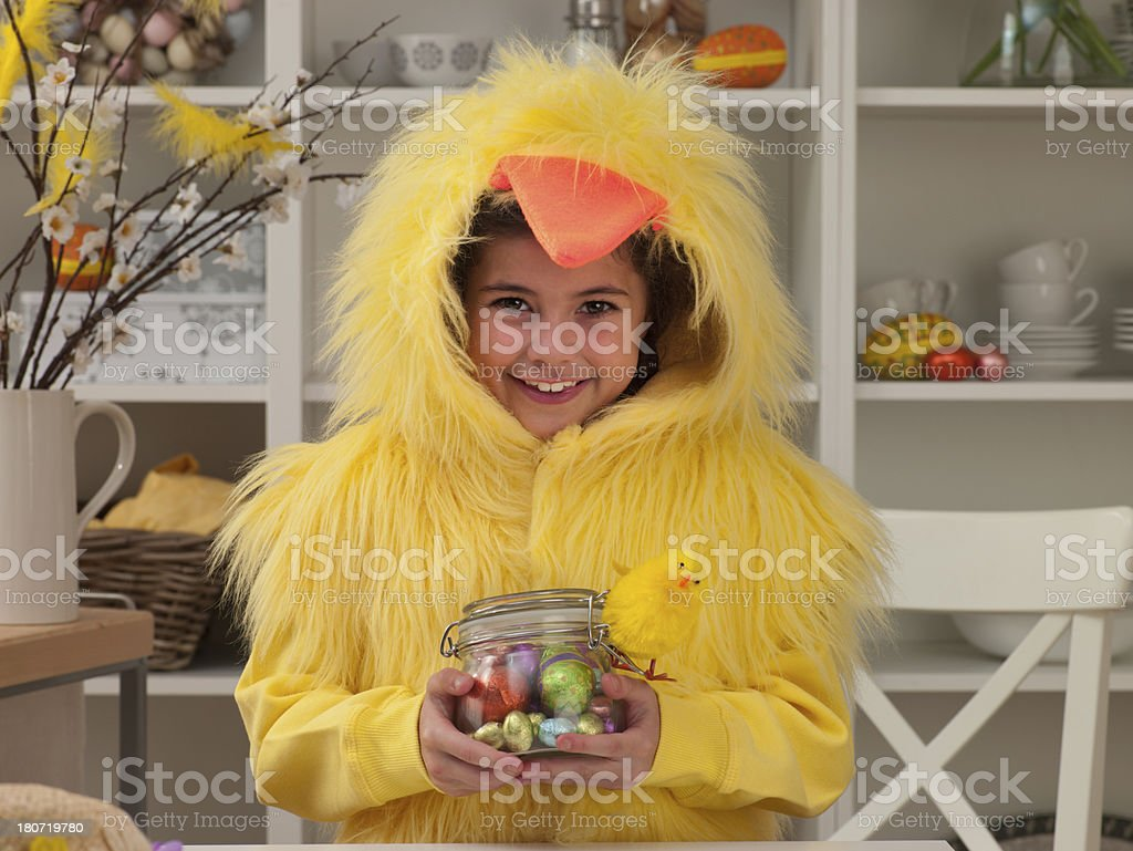 Easter Dress Up stock photo
