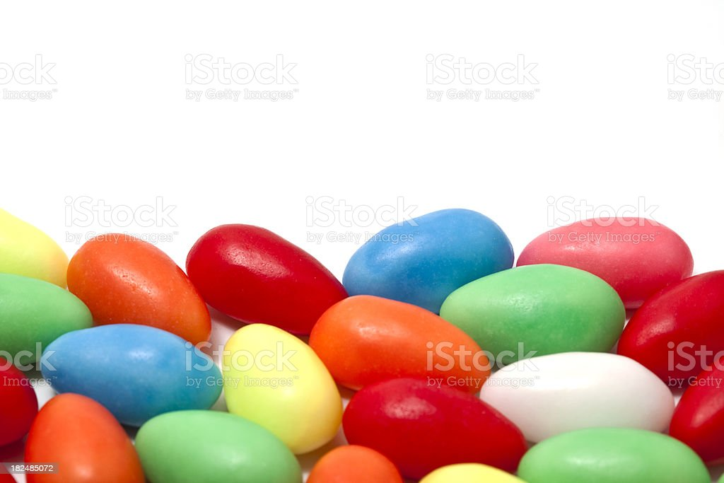 easter egg candies border royalty-free stock photo